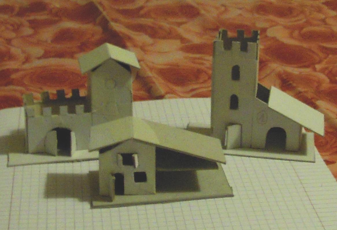 Si pu fare cos costruire le casette per il presepe for Disegni di case in stucco