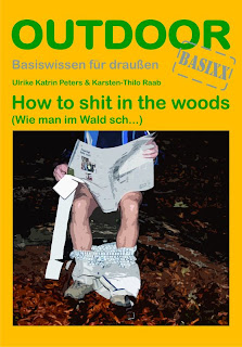 Buchcover - How to shit in the woods