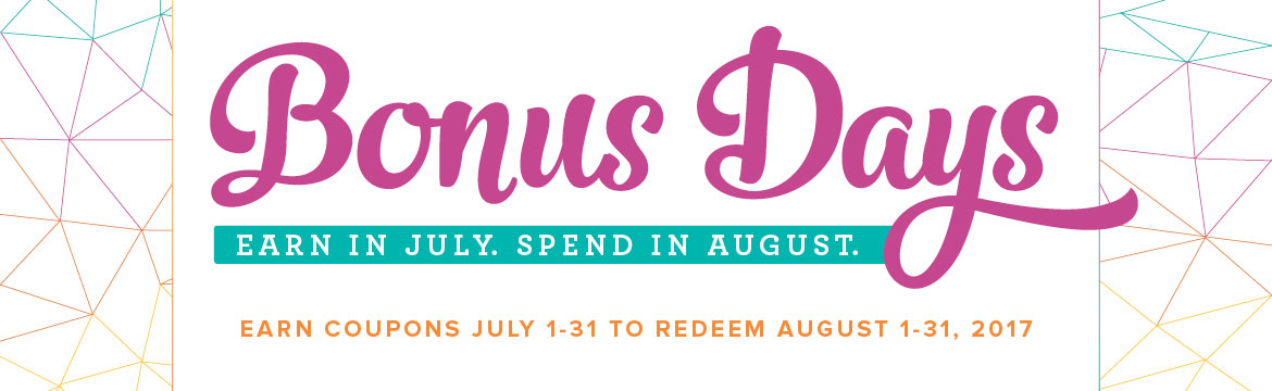 Earn Coupon in July