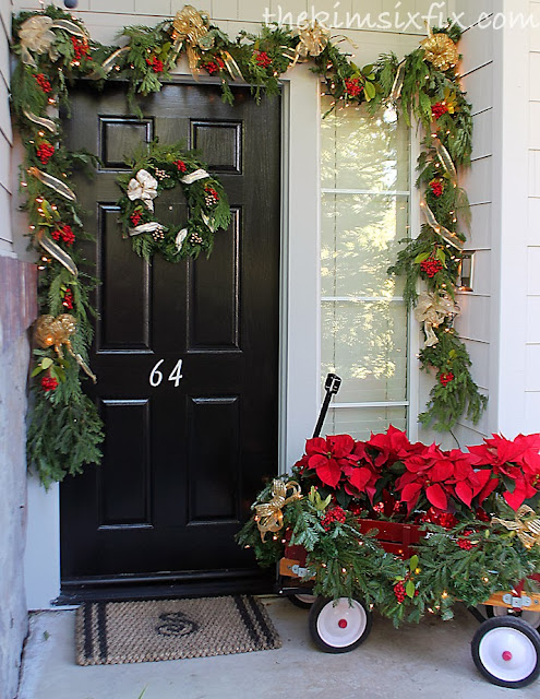 a traditional christmas front porch - Christmas Front Porch
