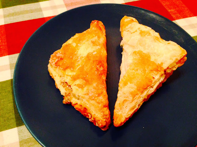 Ground moose pasties