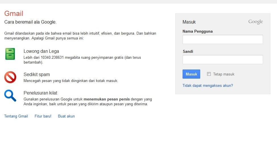 Cara Mudah Buat email di Google | Aspal Putih