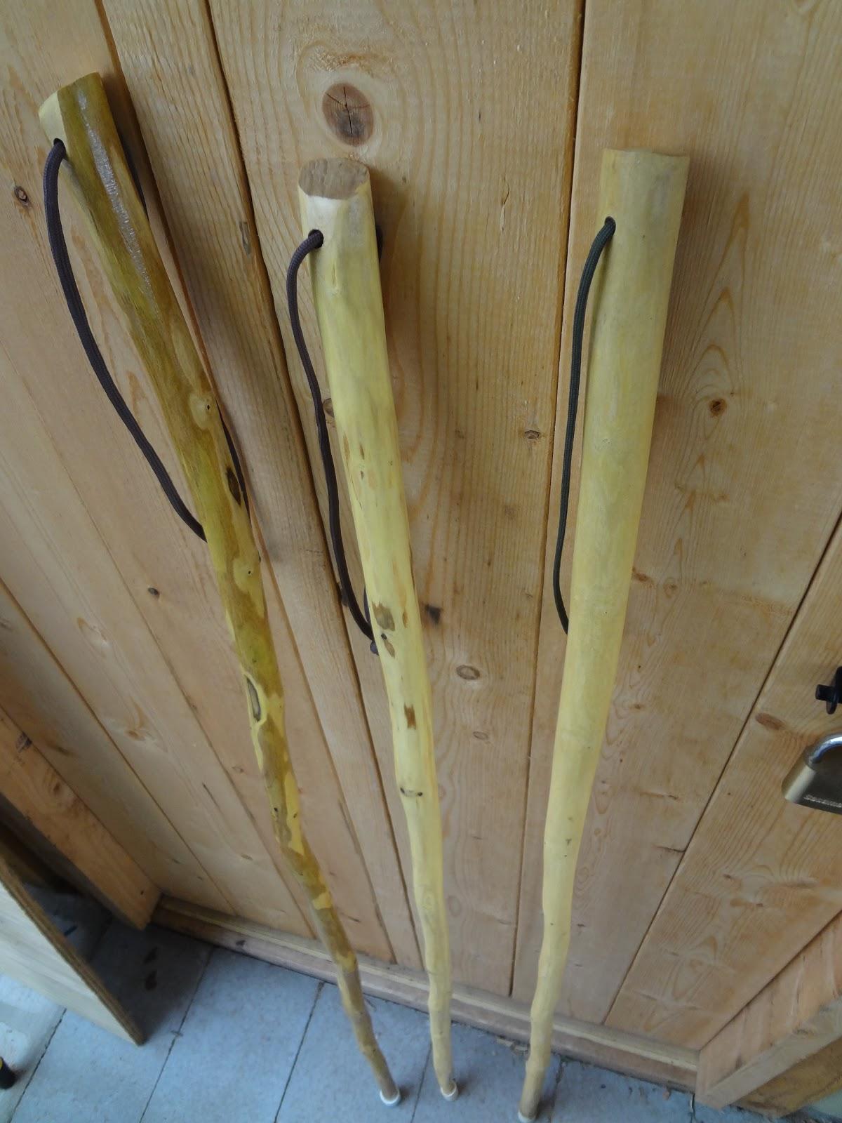 Bamboo Stcik People ~ The woods roamer walking stick