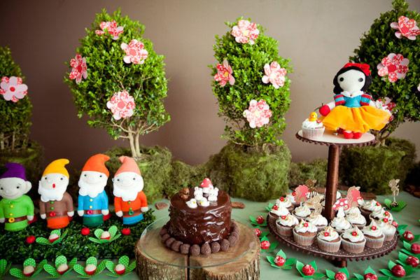 decoracao festa infantil branca de neve : decoracao festa infantil branca de neve:Tema festa: Branca de Neve – Dicas pra Mamãe