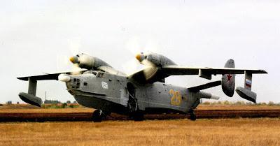 самолет амфибия Бе 12
