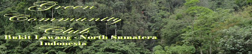 Animal Center ( Salt Lake ) Bukit Lawang  l  Green Community Club  l  Sumatera -  Indonesia