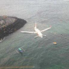 Foto Dari Atas Pesawat Lion Air Jatuh di Bali
