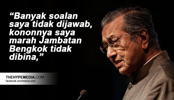 Najib Tak Jawab Soalan Tun Dr Mahathir