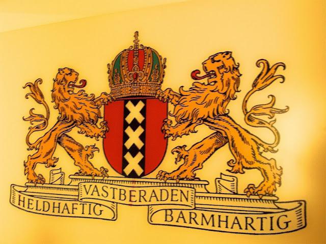 Escudo de la ciudad de Amsterdam