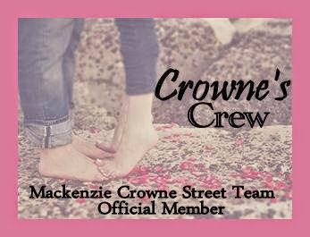 Proud to be part of Mac Crowne's Street Team