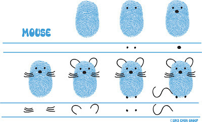 Ed Emberley's Mouse Drawing Page