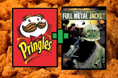 pringles fried chicken with full metal jacket