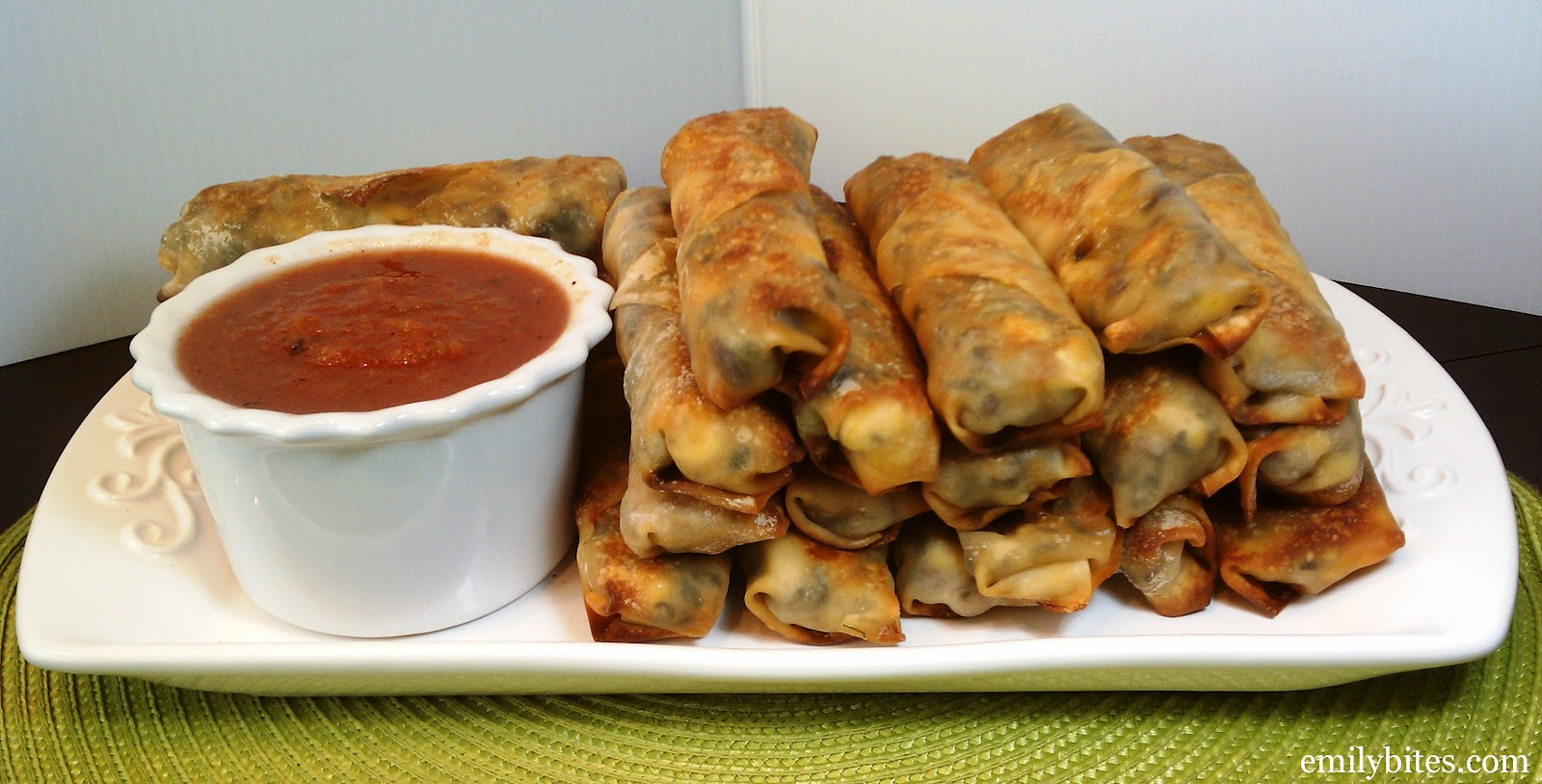 Yields 24 egg rolls. WW P+: 2 per egg roll (P+ calculated using the ...