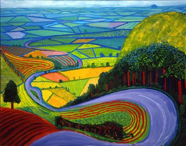 David Hockneys Work Based On Trees In East Yorkshire Paintings