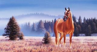 dibujos-de-caballos-hechos-a-mano-con-oleo
