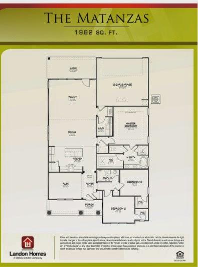 Landon Homes Featuring The Matanzas Floor Plan Hidden