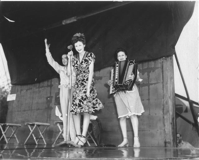 Gene on Jitterbug Dance In The 40s