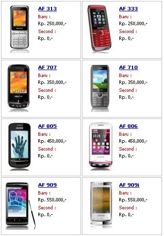 Demikian info terbaru mengenai Daftar Harga Hp Asiafone Terbaru 2014