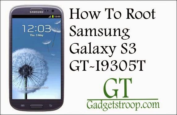 Root Samsung Galaxy s3 SM-I9305T
