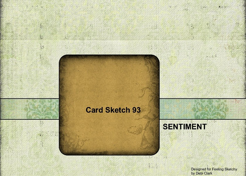 Our Card Sketch 93
