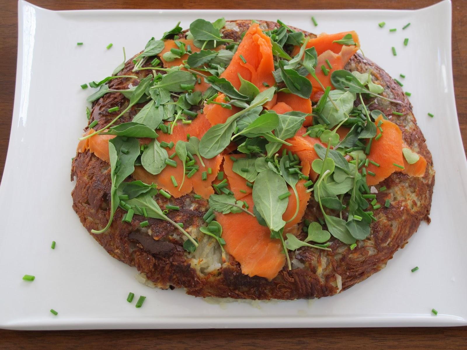 Potato Pancake Smoked Salmon