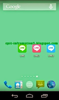 Install Line1, Line2, Line3 Messenger Versi 5.1.3