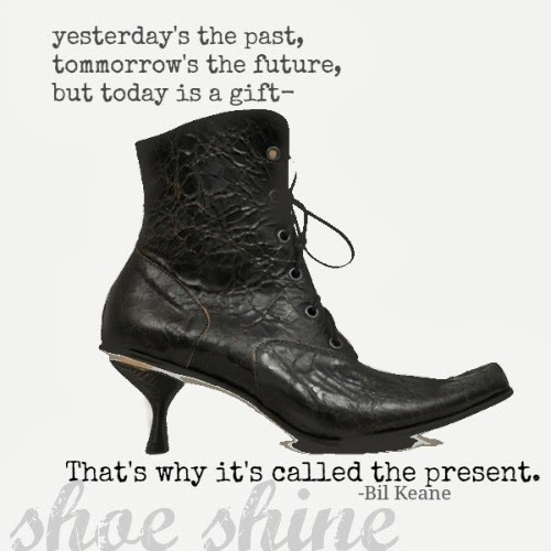#SHOESHINE: Be Present.