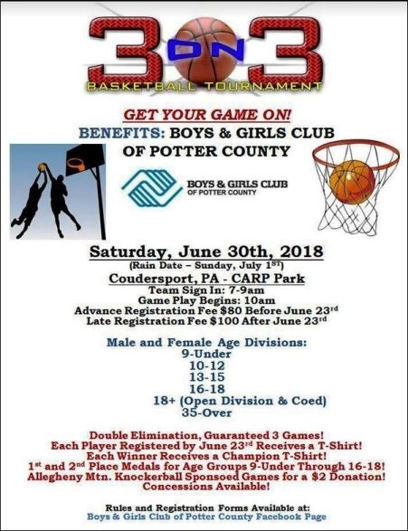 6-30 3 on 3 Benefits Boys & Girls Clubs