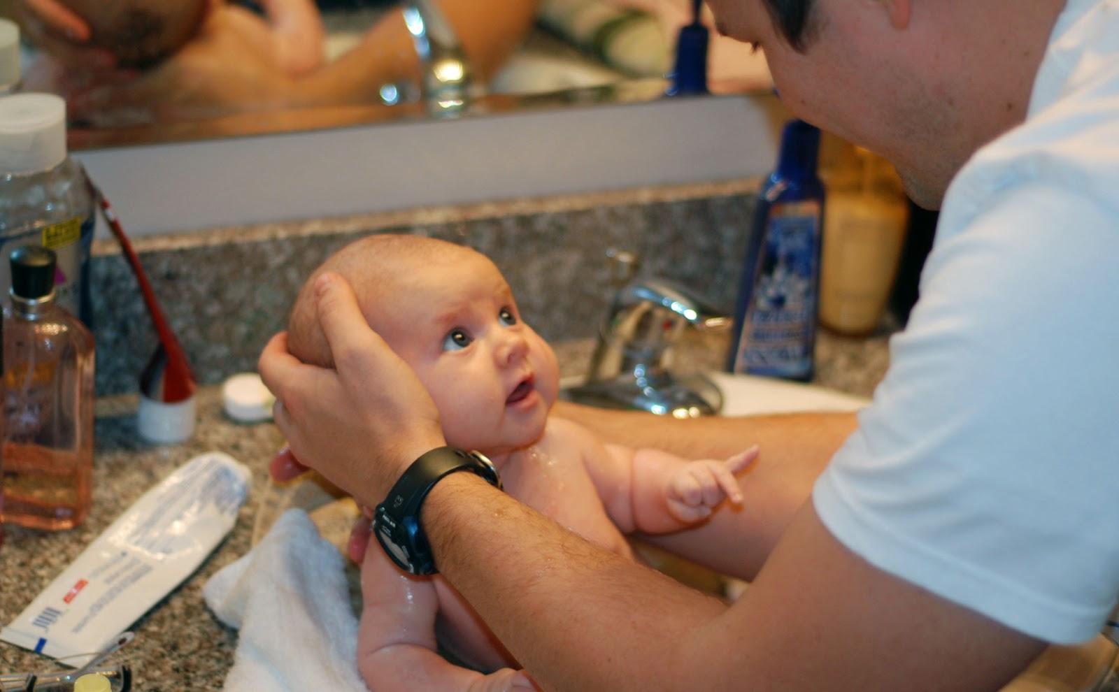 Claire & Devin Harper | Clavin: Bath Time