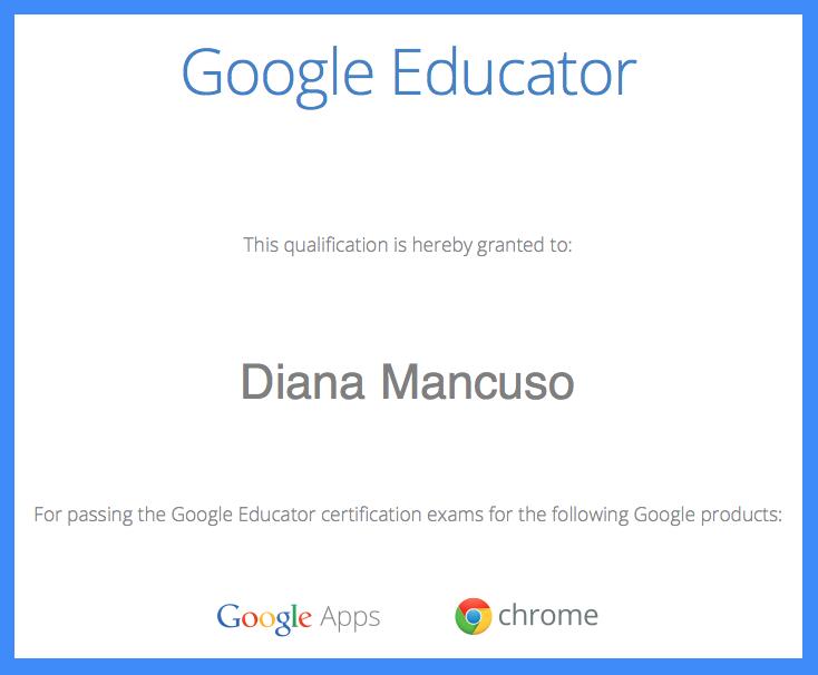 I\'m a Google Educator! | Toronto Teacher Mom