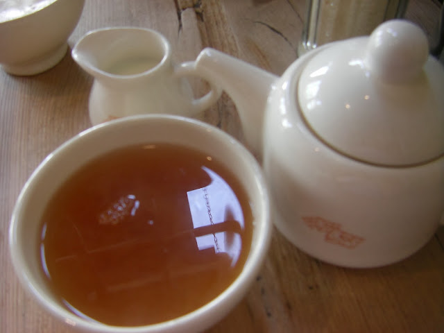 Tea in South Ken at Le Pain Quotidien