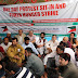 One day Hunger Strike observed by Yasin Malik against atrocities in Jammu.