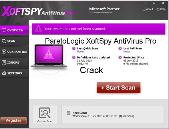 ParetoLogic XoftSpy Internet Security 2015 Crack License Key Keygen Download