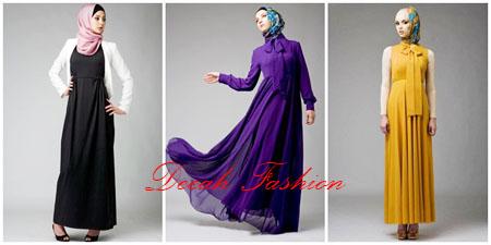 3 Model Dress Muslim Terbaru 2013