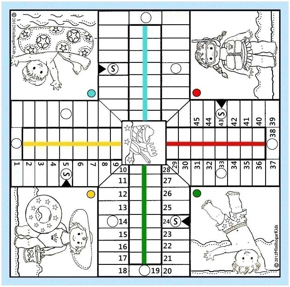 Imagenes De Juegos Mesa Para Colorear   .miifotos.com