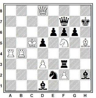Problema ejercicio de ajedrez número 674: Estudio de Conrad Bayer (1856)