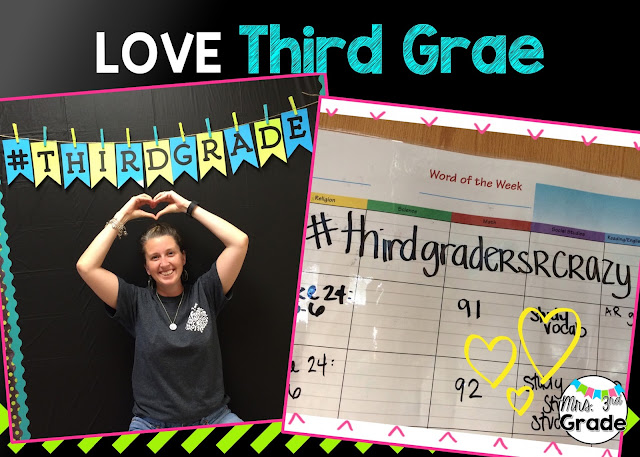 Third graders help make my life fun!!