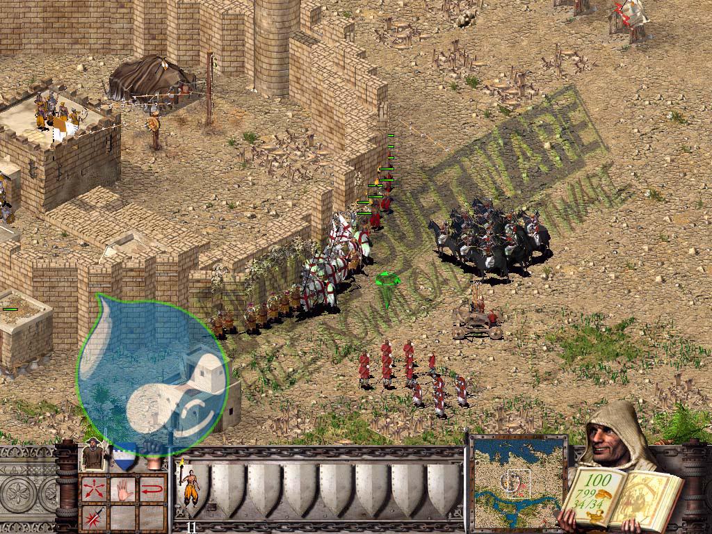 На этой странице предоставлена торрент ссылка благодаря которой вы можете скачать игру stronghold crusader 2