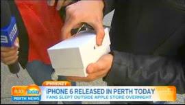 Primero en comprar Iphone6 primero en tirarlo