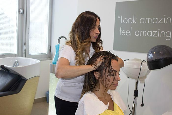 pressoterapia per capelli