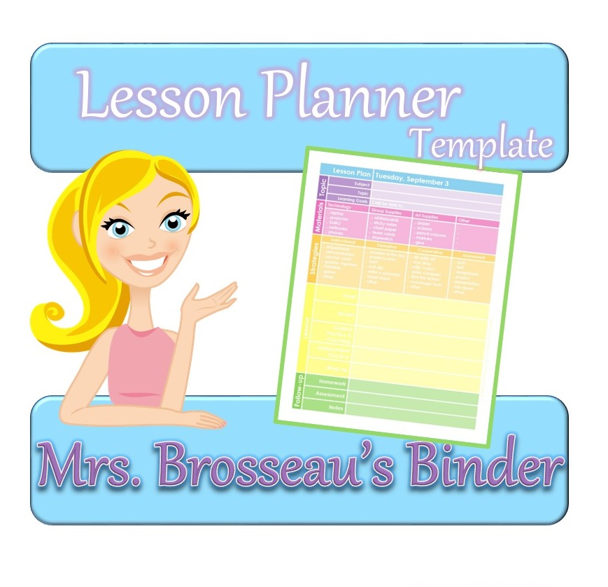 http://www.teacherspayteachers.com/Product/FREE-Colorful-Lesson-Planner-Template-837390