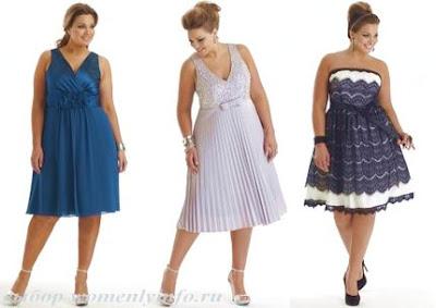 platie2 Мода для повних: секрети краси повних жінок, фото