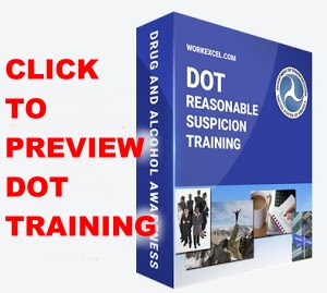DOT 60-60 Reasonable Suspicion Training