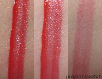 190 Endless Red shine caresse swatch