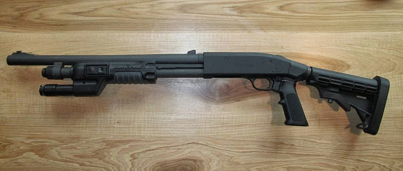 Mossberg A Compact Ghost Ring Speedfeed Stock