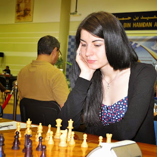 Echecs : la grand-maître Moldave Elena Partac vit à Paris © Chess & Strategy