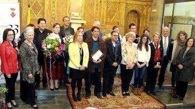 Lliurament XXXIII Jocs Florals de Calella 2015
