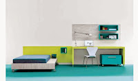 Simple Lively Design Of Cool Exciting Teen Rooms