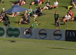 Greatest Catch Ever! Bevan Small And Michael Mason Do An Acrobatic Catch In New Zealand's Domestic T20 (VIDEO)