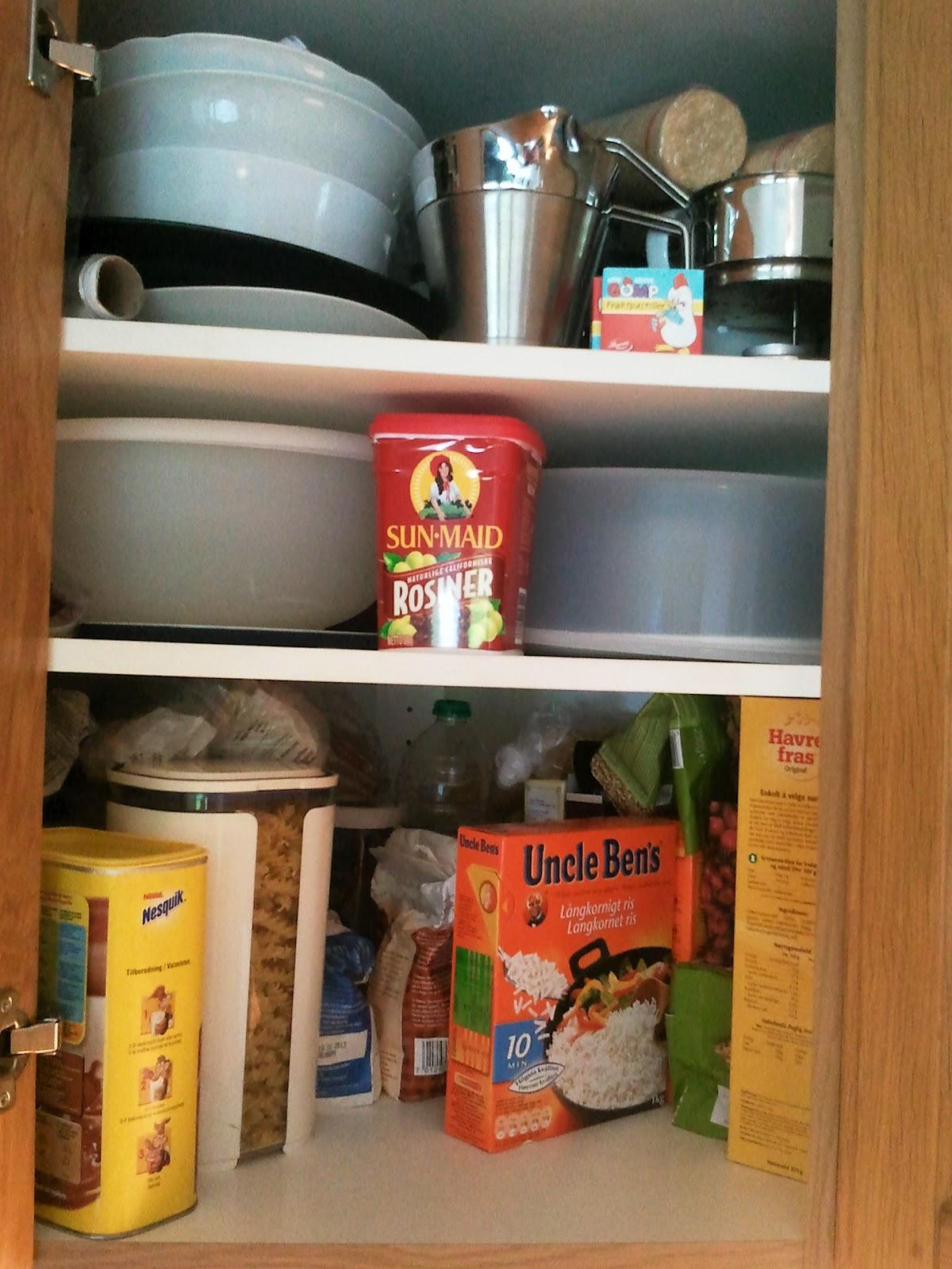 Hjørneskap Kjøkken: System i kjkkenskapet. Jeanettes kreative ...